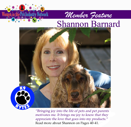 Shannon Barnard's Member Feature - Spring 2017 Top Women in the Pet Industry Magazine