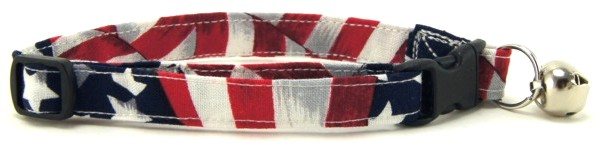 Flag Cat Collar