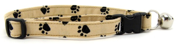 Tan Paws Cat Collar