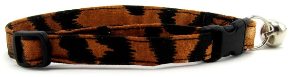 Tiger Stripes Cat Collar