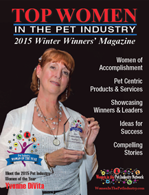 Winter 2015 Top Women in the Pet Industry Magazine Profile