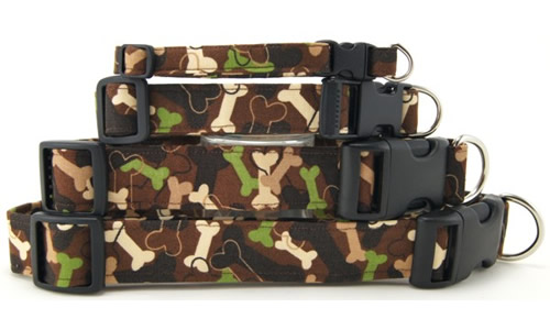 Patriotic, Camo and Bandana Dog Collars